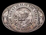 Nevada Belt Buckle