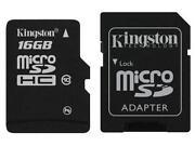 16GB Micro SDHC Class 10 Kingston