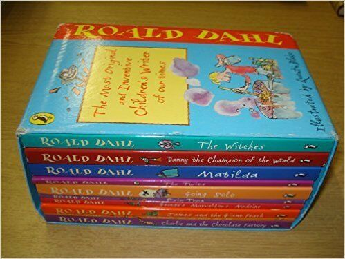 Roald Dahl: box set 10 volumes