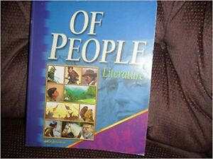"book set ""Of People - Literature"", teacher's guide+tests+answers Kitchener / Waterloo Kitchener Area image 1"