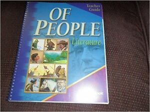 "book set ""Of People - Literature"", teacher's guide+tests+answers Kitchener / Waterloo Kitchener Area image 2"