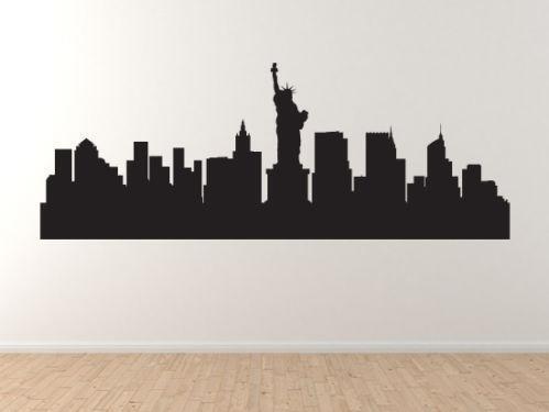 New York City Wall Decal Ebay