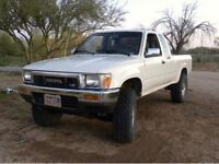 LOOKING FOR  any 1990's Toyota Pick up
