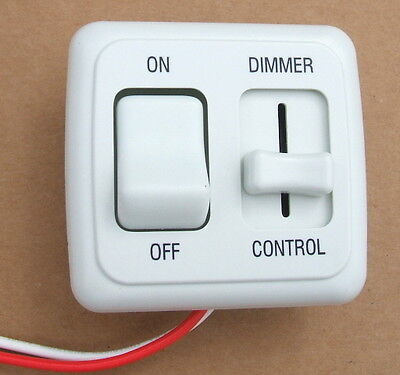 Marine Light Switches: Dimmer Switch 12 volt on-off Light RV Motor Home Camper Travel Trailer  Marine W,Lighting