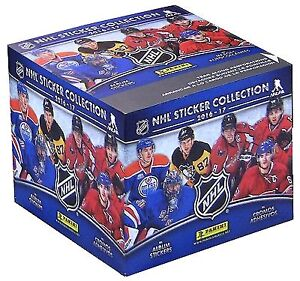 Boite de Collants PANINI NHL 2016-2017 Hockey Stickers BOX
