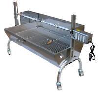 Whole Pig roasting