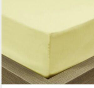 Single bed fitted pale lemon sheet Secret Harbour Rockingham Area Preview