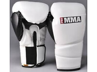 Brand new leather 16oz boxing mma fight sparring martial arts gloves