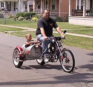 Schwinn OCC Chopper Bicycle Motor Mount and free chain adjusters