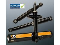 Fiat Punto MK2 Front Shock Absorbers x 2 1999-2005 Shockers Dampers GS3026F