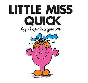 LITTLE MISS QUICK - Vol 20 - Mr Men Story Book / Little Miss Story Book - NEW