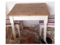 Shabby Chic Vintage Pine Table