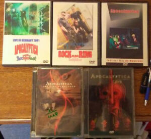 Apocalyptica band official DVDs