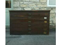 Old Architects drawers (free local delivery)