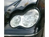 Mercedes W203 203 S203 C Class Left side NS Passengers head lamp light Headlamp complete 2004-2007 for sale  Moseley, West Midlands