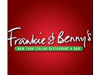 FRANKIE & BENNY'S GRILL CHEF WANTED!