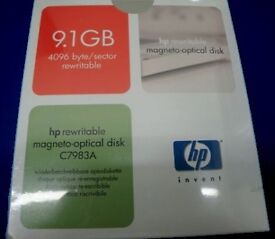 "HP C7983A 5.25"" 9.1GB Magneto-Optical Disk Re-Writable - NEW"