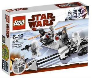 Lego Star Wars Snow Trooper Battle Pack 8084 Hoth Snowtrooper Speeder ATAT NISB