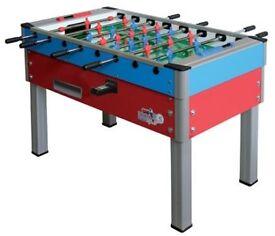 Football table (£1 coin opereated football table)