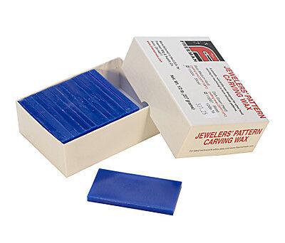 Freeman Carving Wax Block, Blue, Medium Hard, 1/2 Pound, Sliced | WAX-331.25