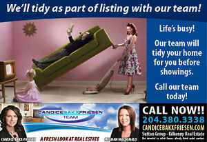 Life's Busy!  Let us Help you Sell with Ease!!