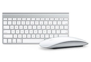 Apple Bluetooth Magic Mouse & Keyboard, Like New.