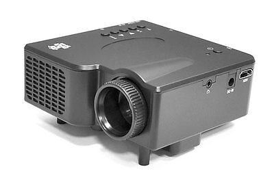 Pyle PRJG45 Multimedia Home Theater Mini Projector HDMI AV VGA SD USB Reader
