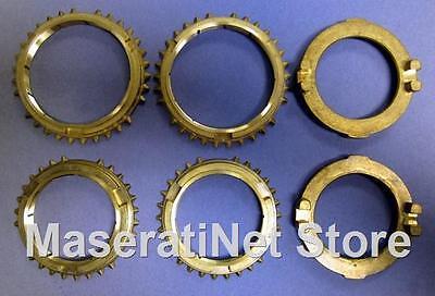 Mistral Set Ring - MASERATI 3500 VIGNALE SEBRING MISTRAL S5-17 ZF TRANSMISSION SYNCHRO RING SET
