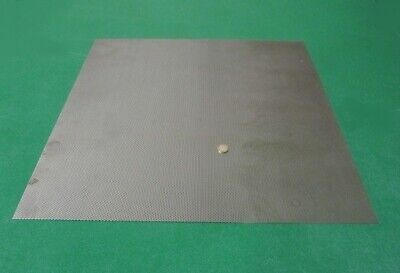 Perforated Staggered Steel Sheet .030 Thick X 24 X 24 .125 Hole Dia.
