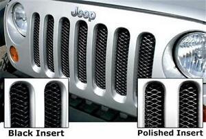 Jeep - 3D Mesh Wire Grille Inserts 07-17 JK 2/4Dr