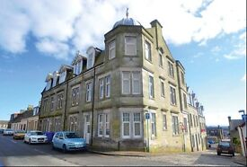 Large 1 bedroom ground floor flat, central Dunfermline, unfurnished. Available end Aug 2017