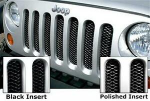 JEEP - 3D Mesh Wire Grille Inserts 2007-2016