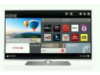 """LG 47"""" LED smart wifi built USB MEDIA PLAYER HD FREEVIEW and Screen mirror full hd 1080p ."""