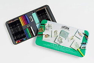 Derwent Colour Collection (Derwent Colour Collection 36 Tin Large - Contents as)