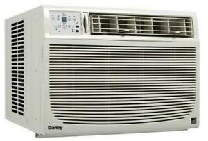 24 Danby Window Air Conditioner, 15 000 BTU, White