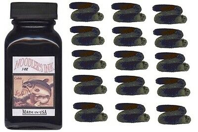 NOODLERS Fountain Pen Ink Bottle - 3oz - BULLETPROOF BLACK