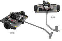 "ATV 44"" Finish Cut Lawn Mower tow behind Canada ATV TIRE RACK"