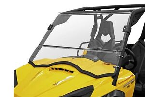CAN AM COMMANDER 800 1000 FRONT FULL FOLDING FOLD DOWN HARD WINDSHIELD