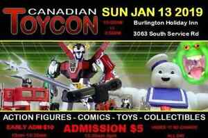 Canadian Toy con Sunday January 13th 2019