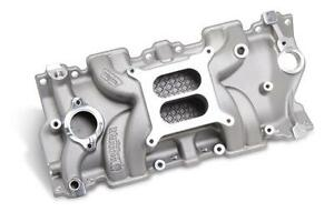 Intake Manifold WEIAND; Action+; SMALL BLOCK CHEVY (8120WND)