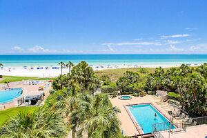 2BR2BA Gulf Coast Condo on Siesta Key Beach Sarasota Free WiFi E