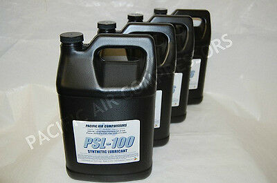 4 Pack 1 Gal Equiv Curtis Rc-1000s Full Synthetic Reciprocating Compressor Oil