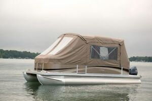 Brand New Camper Top Curtains for Pontoon Boats