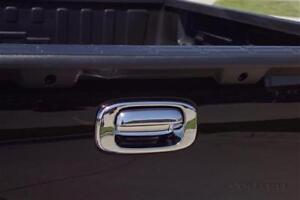 chrome tailgate handle trim