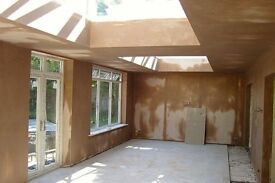 Plastering, painting, building, roofing and handyman services.