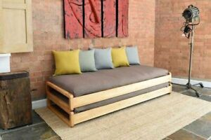 IKEA UTÅKER stackable bed complete with two new mattresses