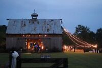 Looking for a barn/outdoor location for wedding reception
