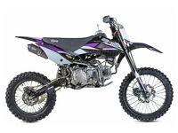 STOMP Z3 160 PIT BIKE, NEW, KIDS MOTORBIKE, CHILDS MOTORBIKE, KIDS DIRT BIKE, MOTOR BIKE.