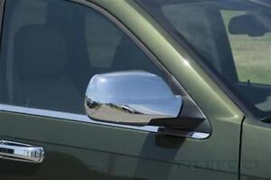 CHROME MIRROR COVERS GRAND CHEROKEE 05-10