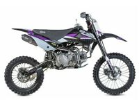 STOMP Z3 160 MOTOCROSS, FINANCE AVAILABLE, ADULT AND KIDS MOTORBIKE